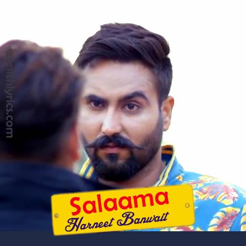 Salaama Lyrics - Harneet Banwait