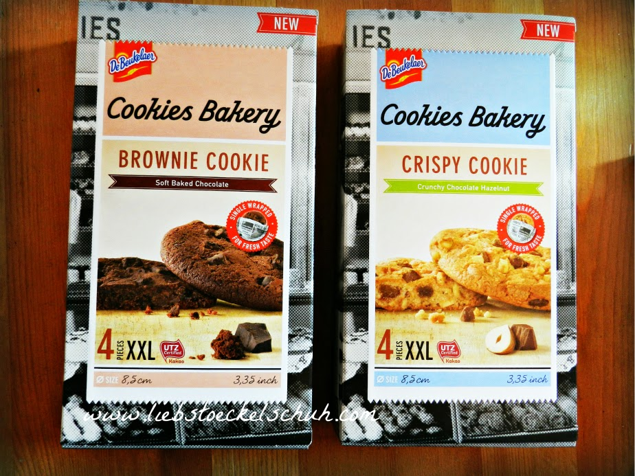 brownie cookie & crispy cookie