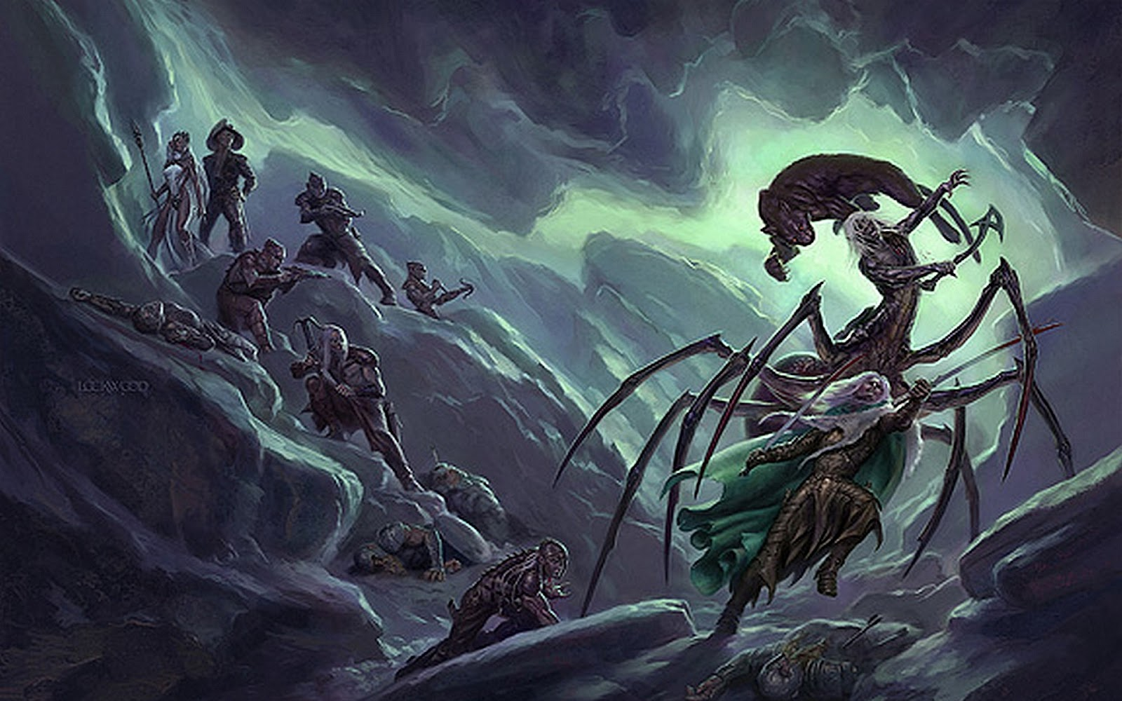 Forgotten realms dark elf girl hentai scenes