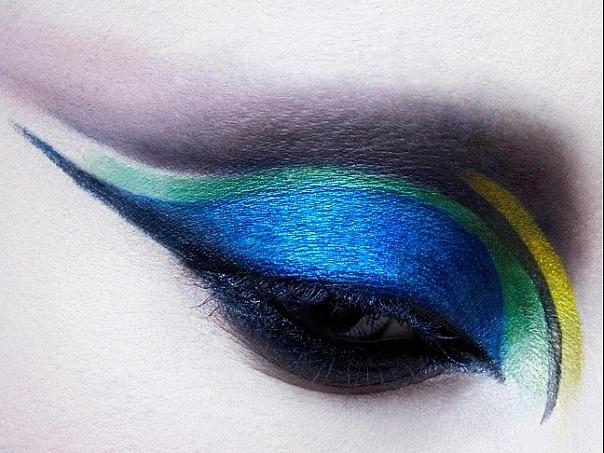 Фотосессия. Креативный макияж