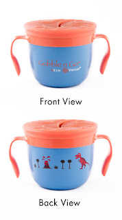 blue 1 Ecovessel kids cups review!