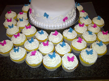 21st Cake &amp; Cupcakes