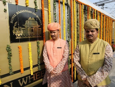 New luxury train in India: Photos