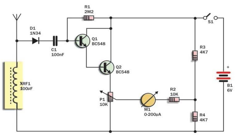 circuitos electr nicos para armar gratis medidor de. Black Bedroom Furniture Sets. Home Design Ideas