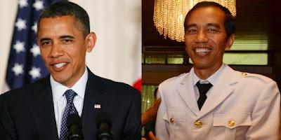 5 Kemiripan Jokowi dengan Obama
