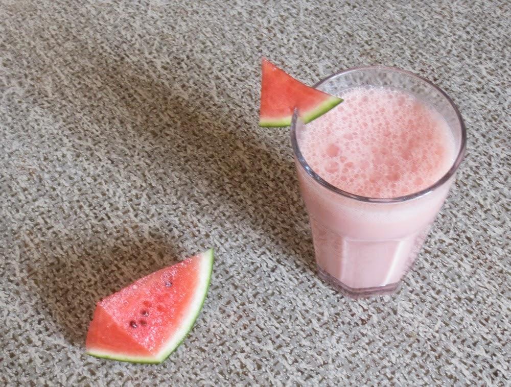 Wassermelonen-Joghurt-Shake