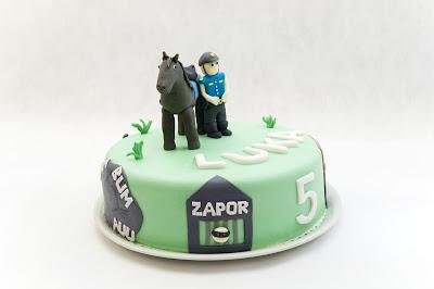 Policijska torta - police cake