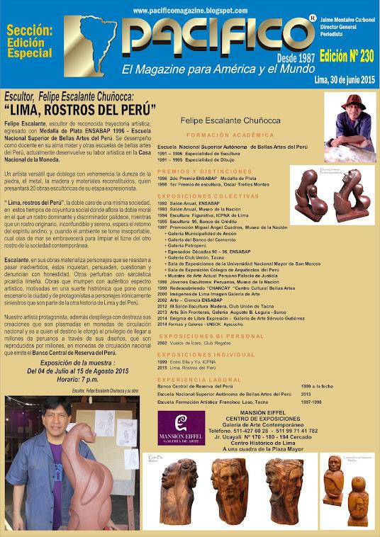 Revista Pacífico Nº 230 Edición Especial Arte