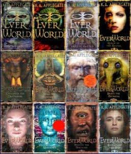 http://smallreview.blogspot.com/2010/12/book-review-everworld-series-by-k.html