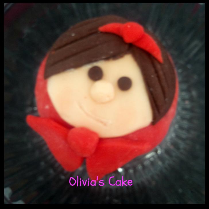 Olivia's decorated cake