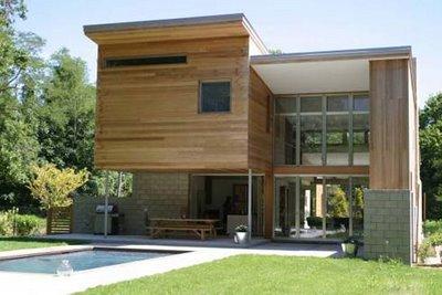 Fachadas de casas modernas fachada de casa de campo moderna for Casa moderna en el campo