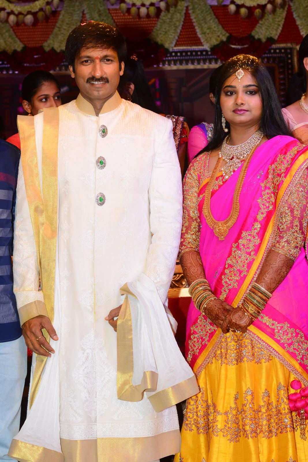 gopichand reshma marriage photos