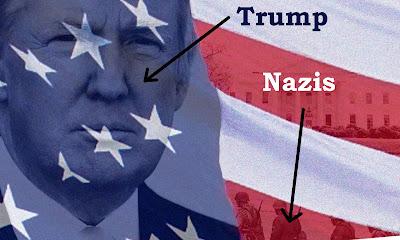 Donald Trump tweet Nazi funny