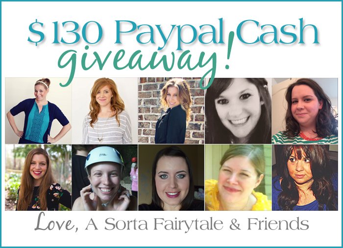$130 PAYPAL CASH GIVEAWAY