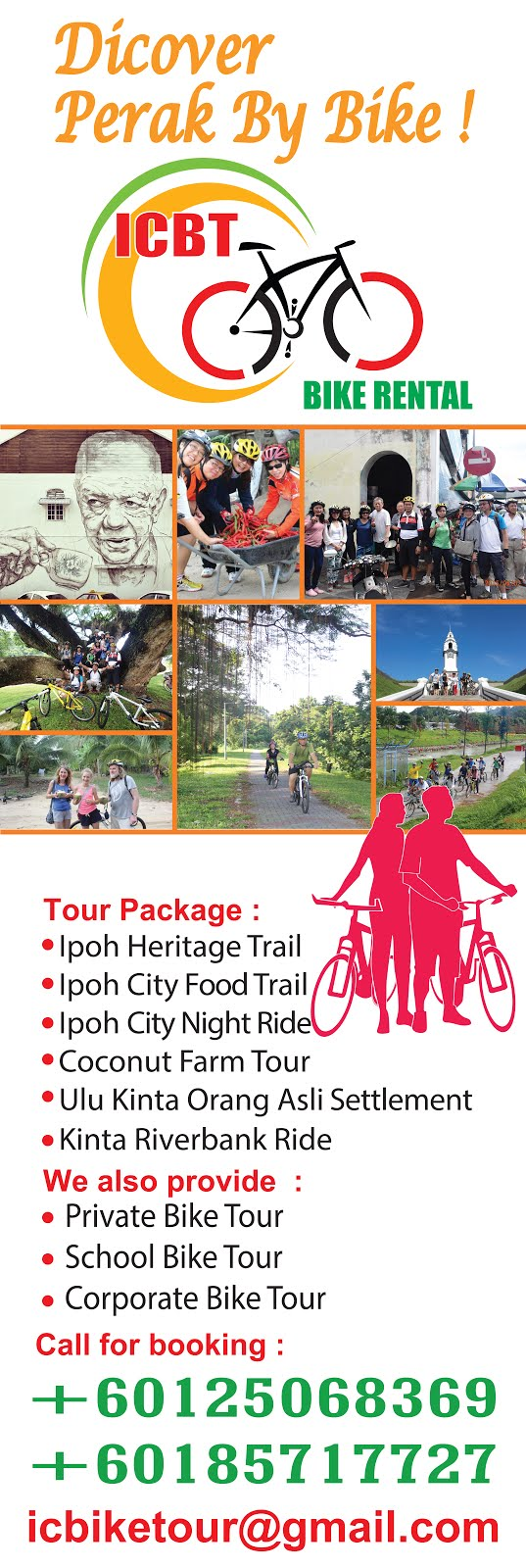 IPOH CITY BIKE TOUR/RENTAL