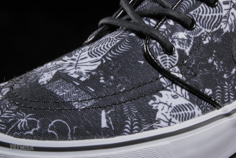 Nike Stefan Janoski Black Floral