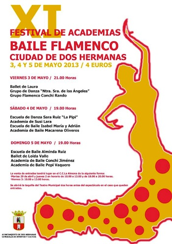 Dos hermanas tur stica festival academias de baile 2013 - Viveros en dos hermanas ...