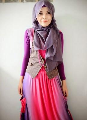 Style hijab jilbab untuk remaja putri