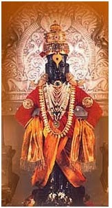 The Gopala Krishna A Form Of Vishnu Came As A Cowherd Accompanied By His Grazing Cows To Meet Pundarika A Staunch Devotee Immersed In His Duties