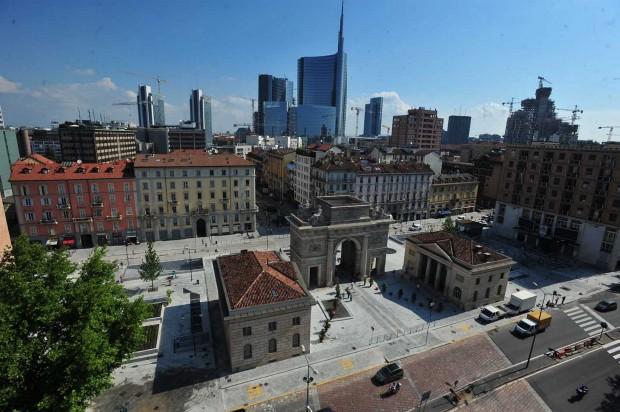 Skymino milano e i parcheggi apre xxv aprile for Eataly milano piazza 25 aprile