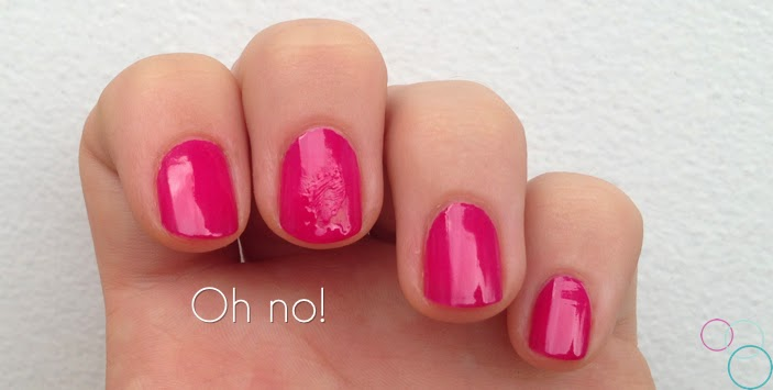 Saay Tip 6 How To Fix Smudged Nail Polish
