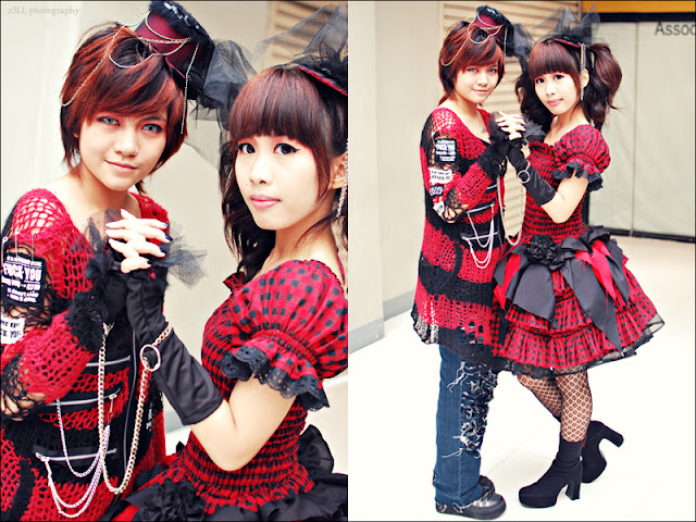 Doll Delight - Punk Lolita - Chains and Crimson