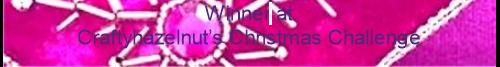 Crafty Hazelnuts Christmas Challenge