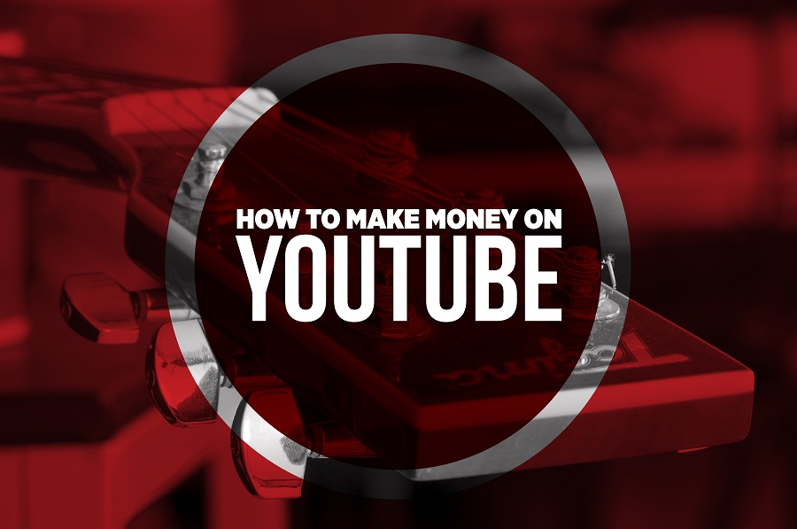 5 steps to make Money on #YouTube - #infographic