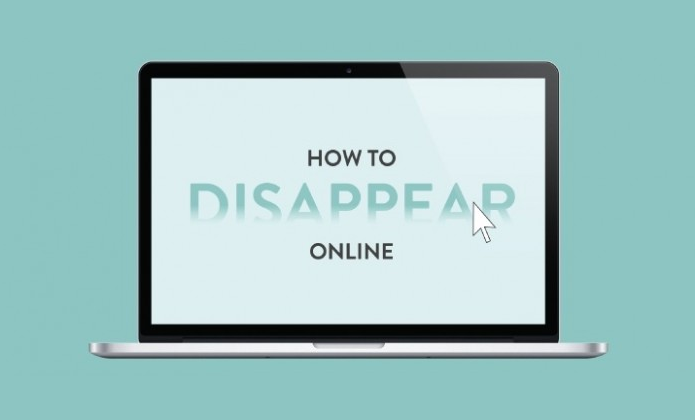 How to Disappear online - #infographic #internet