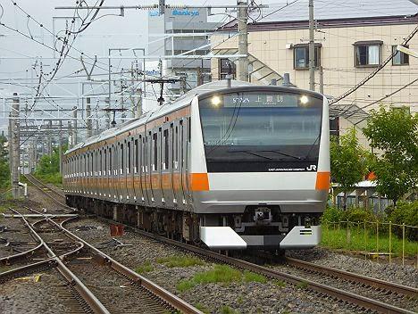 中央線 上諏訪行き E233系