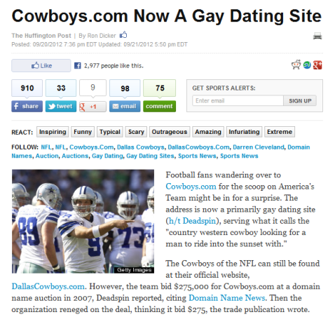 best dating website headlines