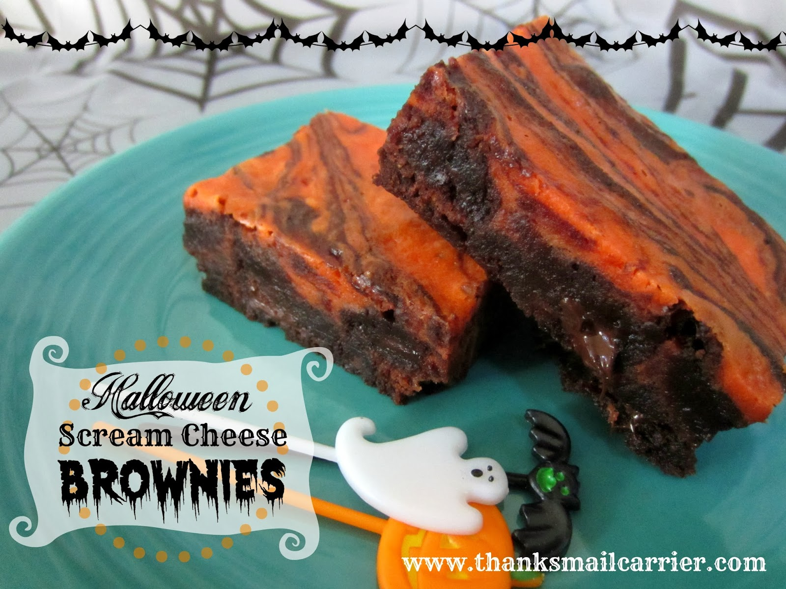 Halloween brownie recipe