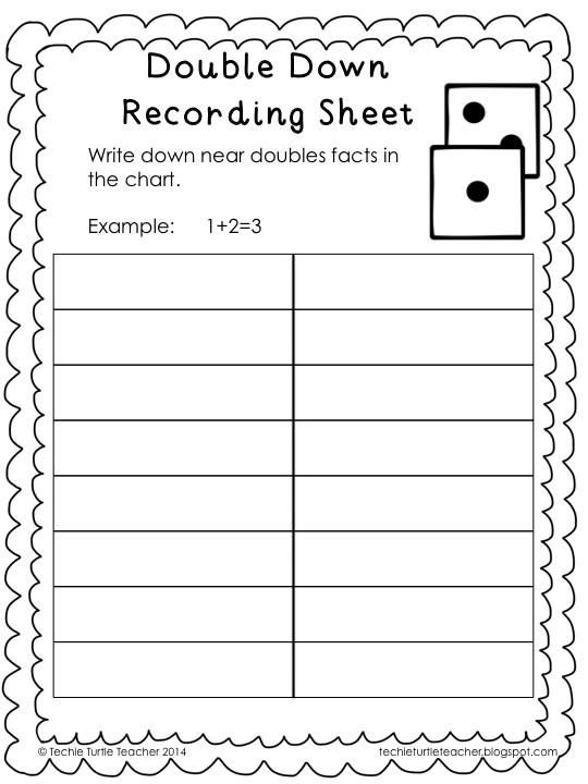 math worksheet : double worksheets for year 1  the best and most comprehensive  : Doubles Addition Facts Worksheet