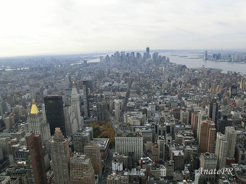 Bajo Manhattan desde el Empire State