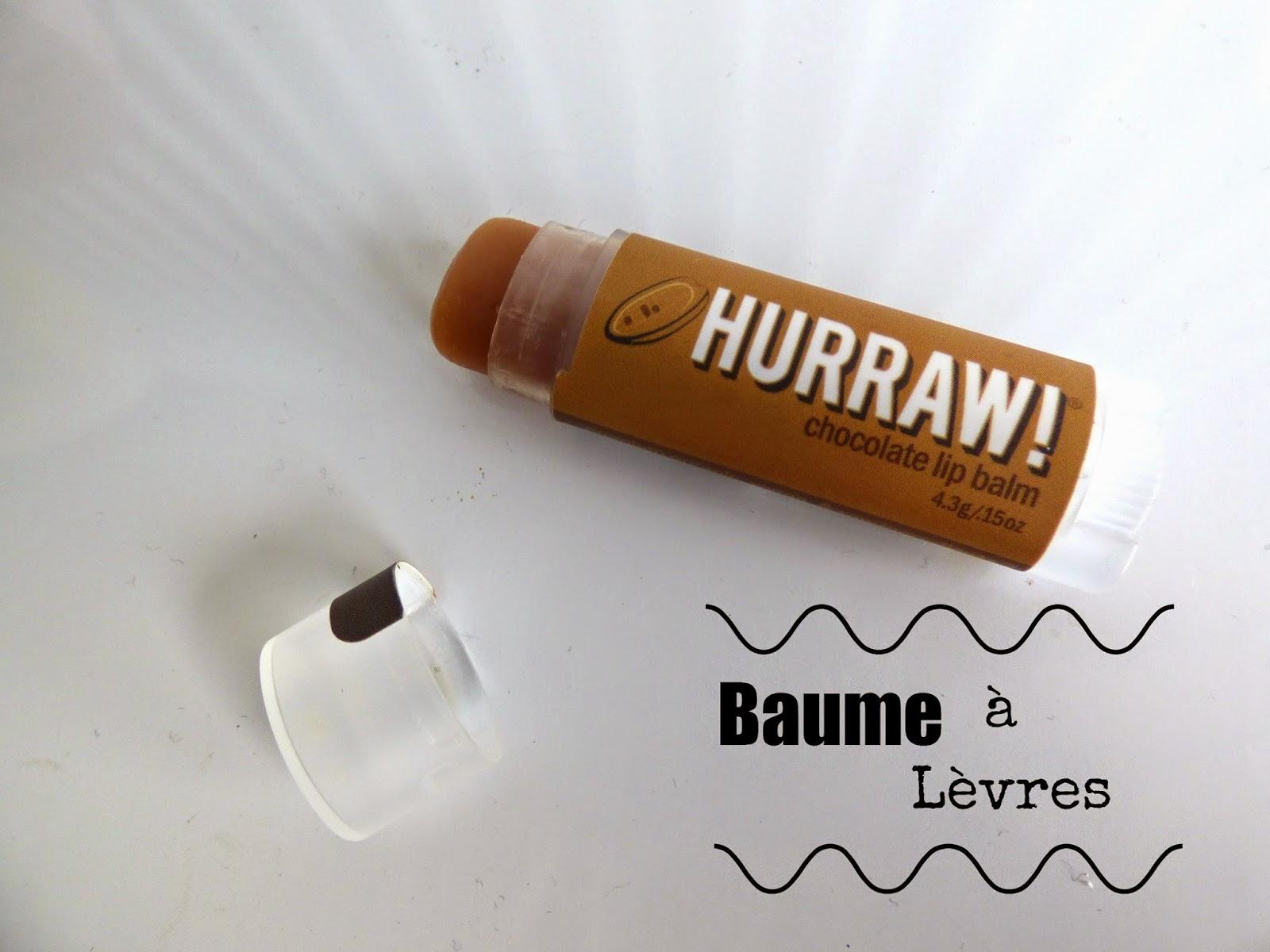 baume à lèvre Hurraw
