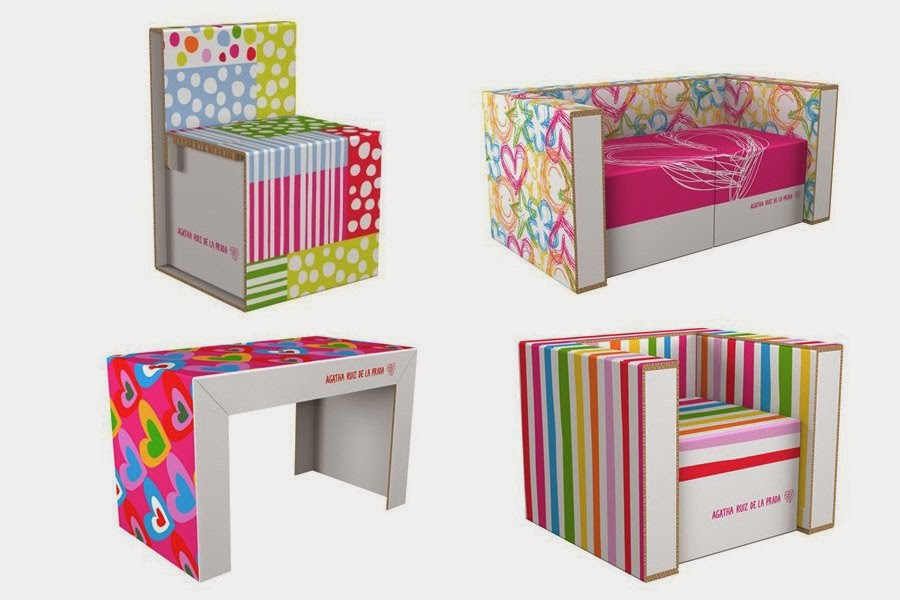 Muebles de cart n de gata ruiz de la prada ideas eco - Muebles de carton ...