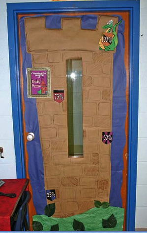 Fairy tale themed classrooms clutter free classroom for Princess fairy door