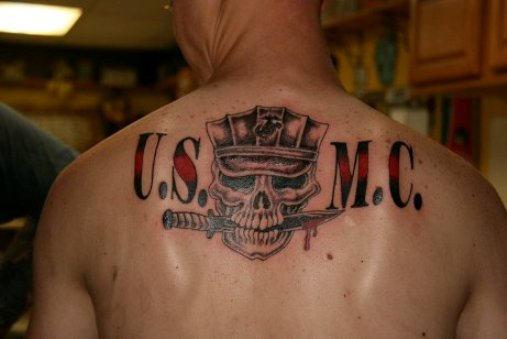 25 tattoo designs marine corps tattoos. Black Bedroom Furniture Sets. Home Design Ideas