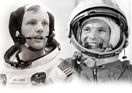 neil armstrong and yuri gagarin To us astronaut neil armstrong in memory of his visit to the gagarin  in  cosmonaut history, only yuri gagarin and alexey leonov are more.