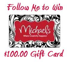 $100 Michaels Gift Card Giveaway