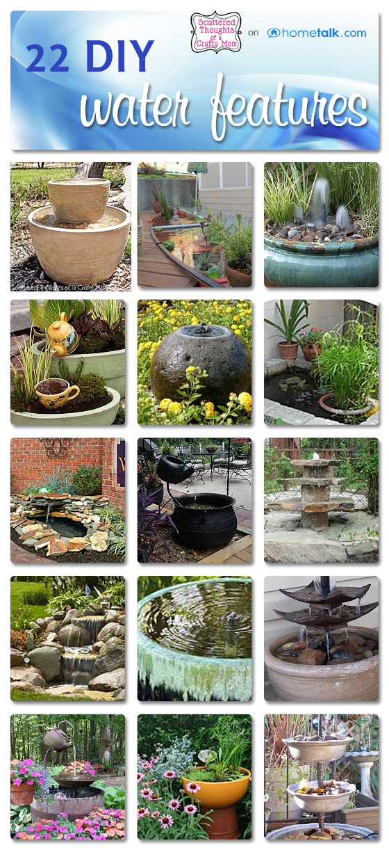 Water Feature Inspiration And Hometalk Scattered