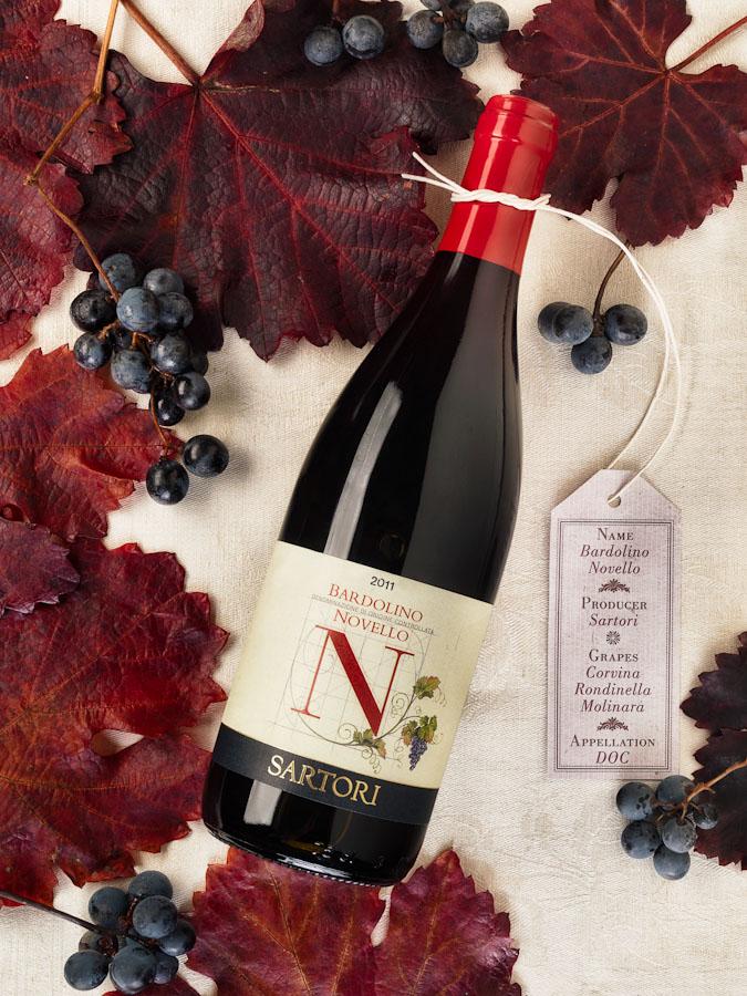 vino wine Bardolino Novello Sartori