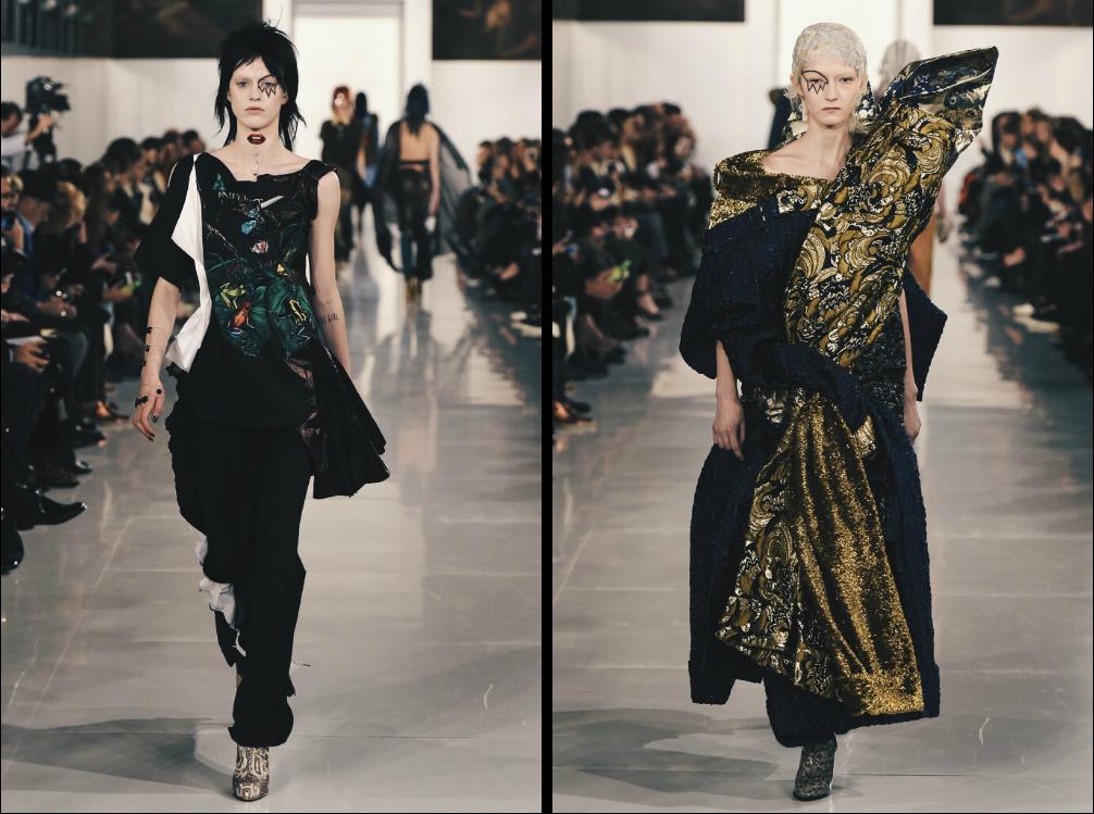 Ana Maddock- Maison Margiela Paris Haute Couture Fashion Week SS16