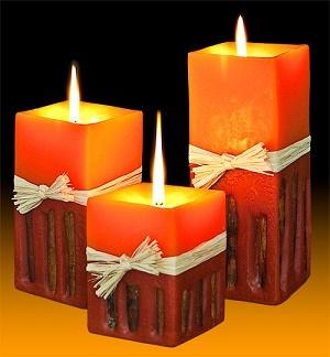 negocio de fabricación de velas