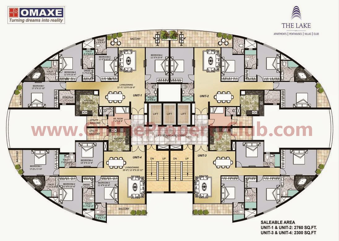 OMAXE High-Rise Flats Mullanpur The Lake Mystic, victoria, caspean, emerald, villas,