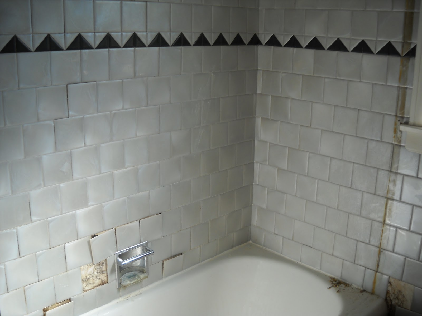 Painting Bathroom Tile Board diy: bathroom renovation | grayson: a different shade of grey