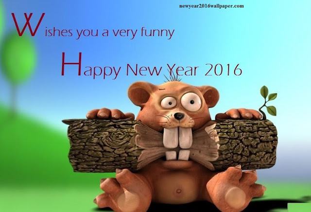 Cartoon New Year Wallpapers 2016