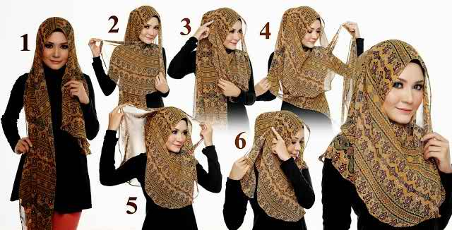 Easy And Simplest Hijab Tutorials For You Style In Life