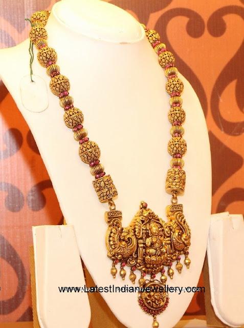 Gold Beads nakshi Haram