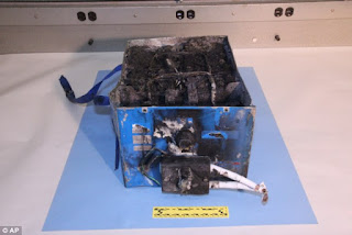 Boeing-787 Battery-Burnt